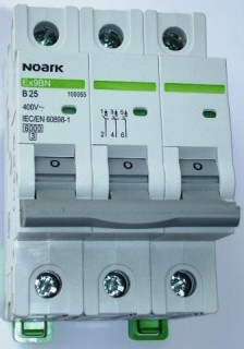 Jistič Noark Ex9BN3P B25