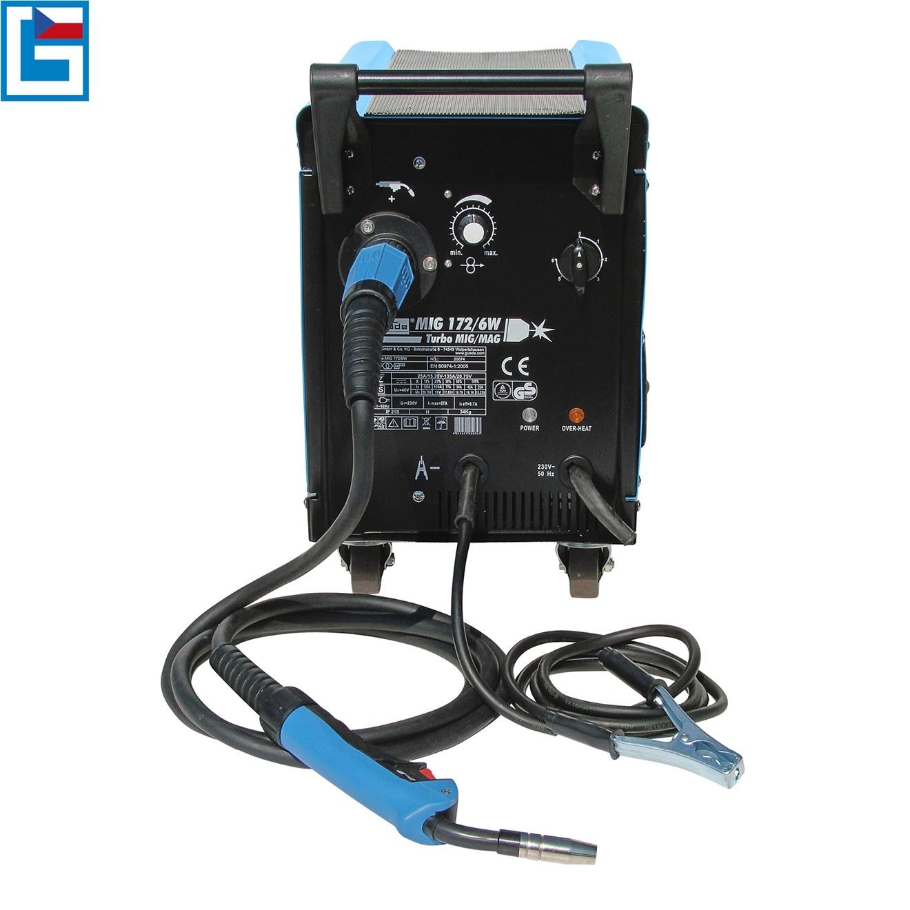 Svářečka MIG 172/6 W pro svařování v ochranné atmosféře