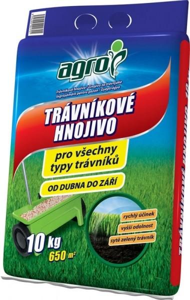 Agro trávníkové hnojivo 10 kg