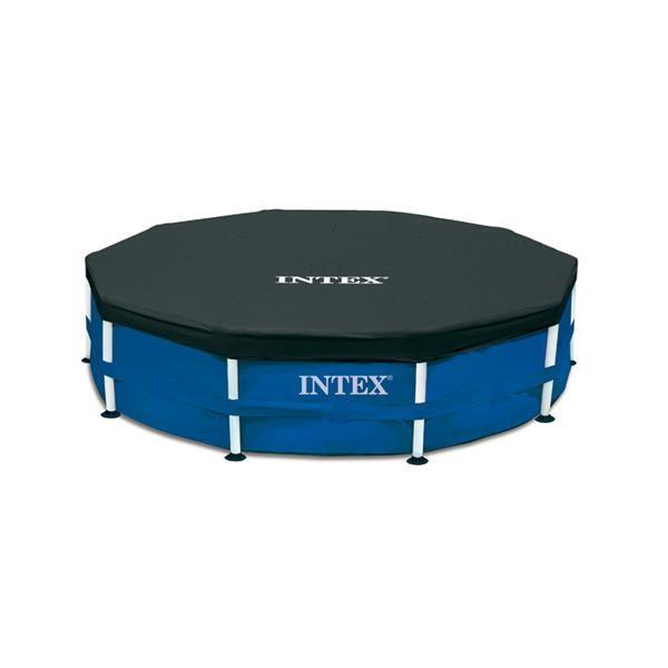 Intex Krycí plachta na bazén s konstrukcí 305 cm