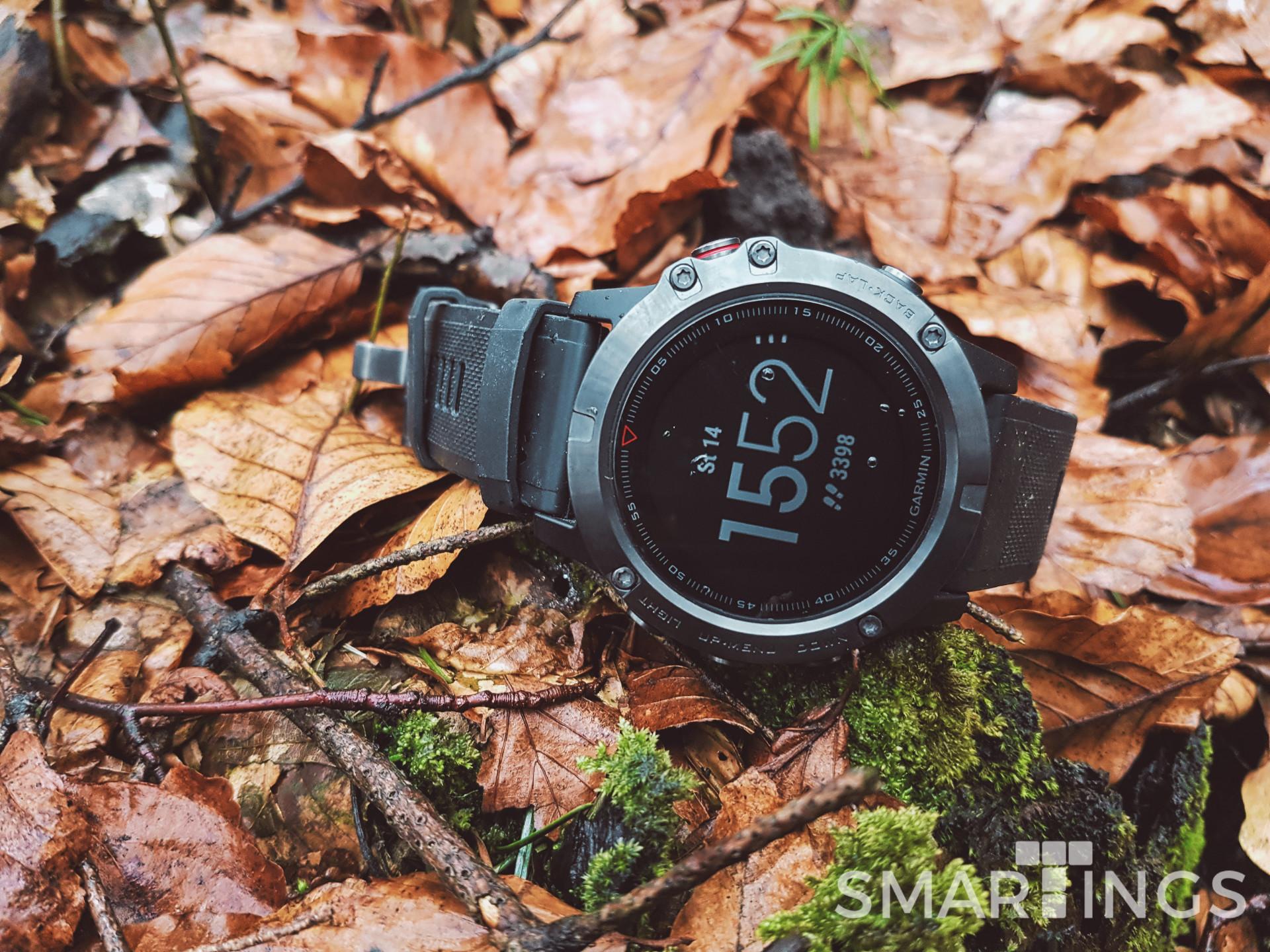 Raketa mezi chytrými hodinkami - Garmin Fenix5