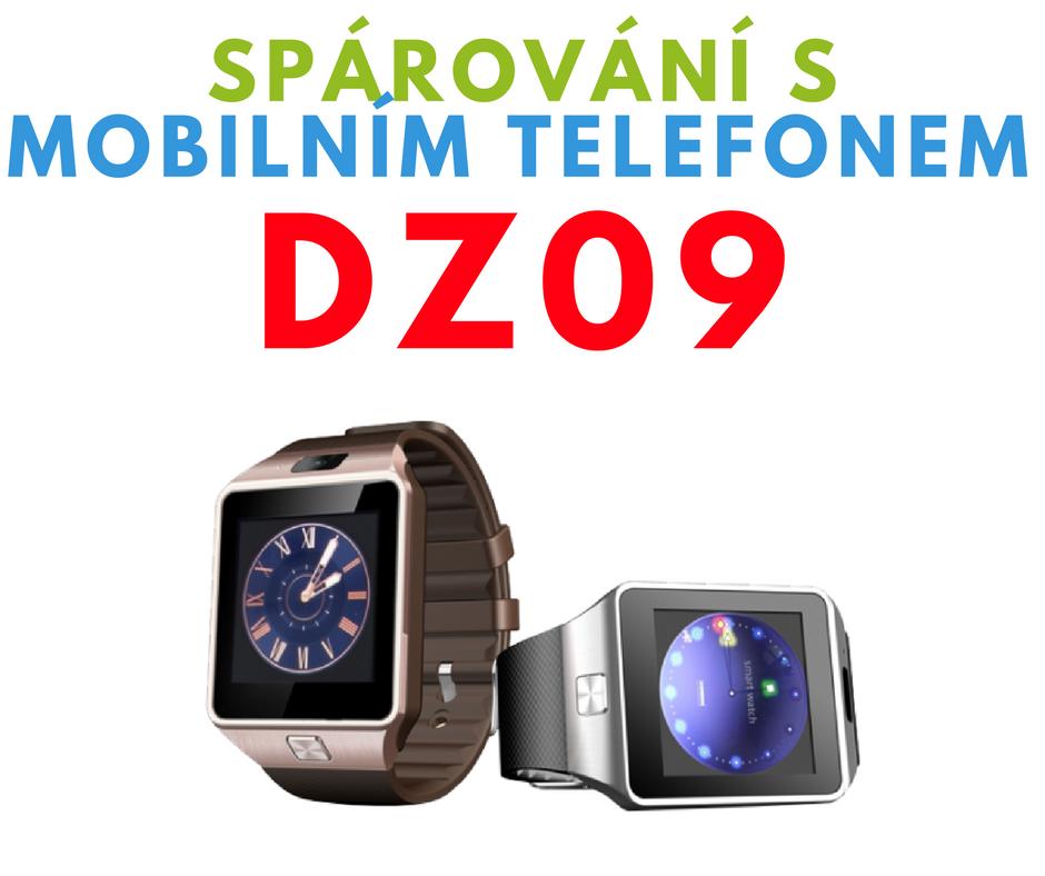 Spárování DZ09 s mobilním telefonem
