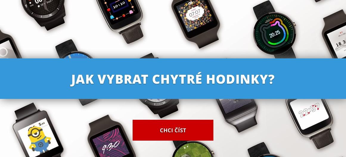 Jak vybrat chytré hodinky? Mrkněte na manuál
