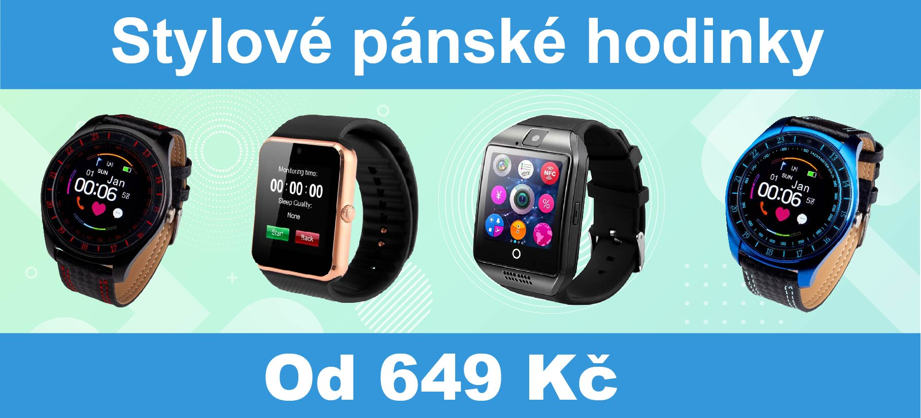 Pánske Smartwatch