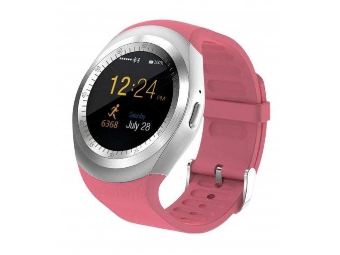 Chytré hodinky N5/Y1 růžová