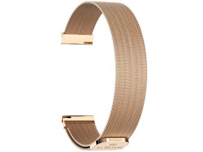 Náramek pro chytré hodinky G. Rossi ROSE GOLD GR18RG