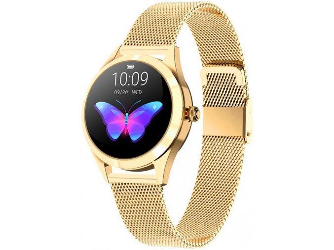 Dámské chytré hodinky RUBICON RNBE37 zlatá