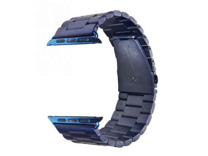 Vyměnitelný řemínek 42mm - IWO, iWatch | kovový VR55  modrá