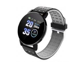 Chytré hodinky ID119 Plus černá