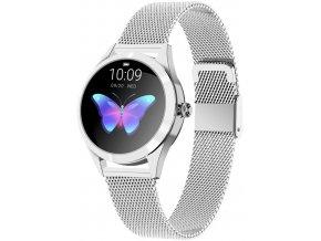 Dámské chytré hodinky RUBICON RNBE37 stříbrná