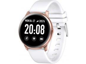 Chytré hodinky RUBICON RNCE40 růžová/bílá