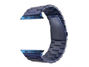 Vyměnitelný řemínek 42mm - IWO, iWatch | kovový  modrá