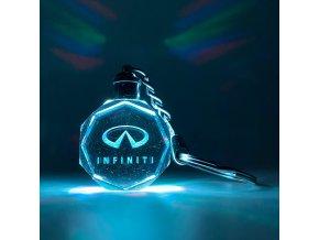 Klíčenka s logem auta Infinity