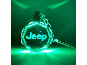 Klíčenka s logem auta Jeep