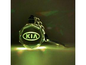 Klíčenka s logem auta Kia