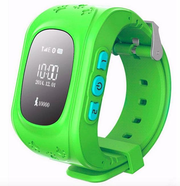 Smartings SMART WATCH Q5 | pro děti Barva: Zelená
