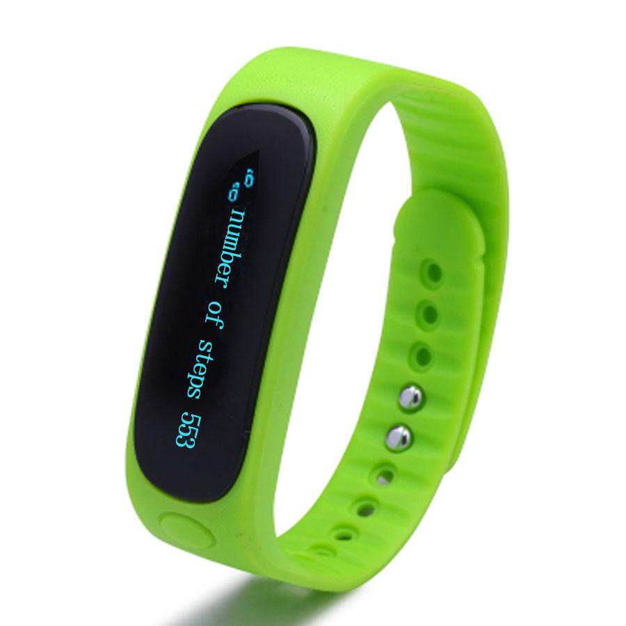 Smartings SmartBand E02 Barva: Zelená