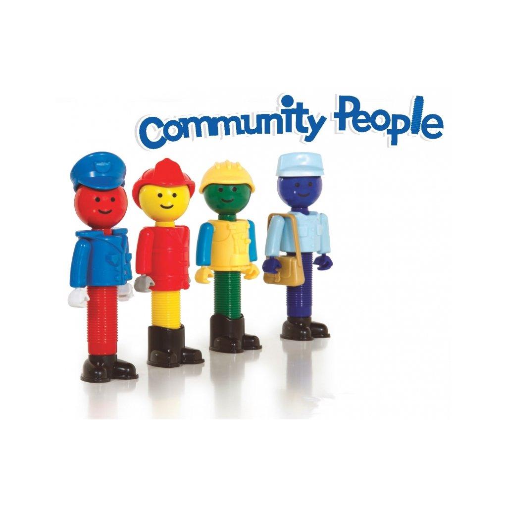 Magnetická stavebnice Better Builders - Community People