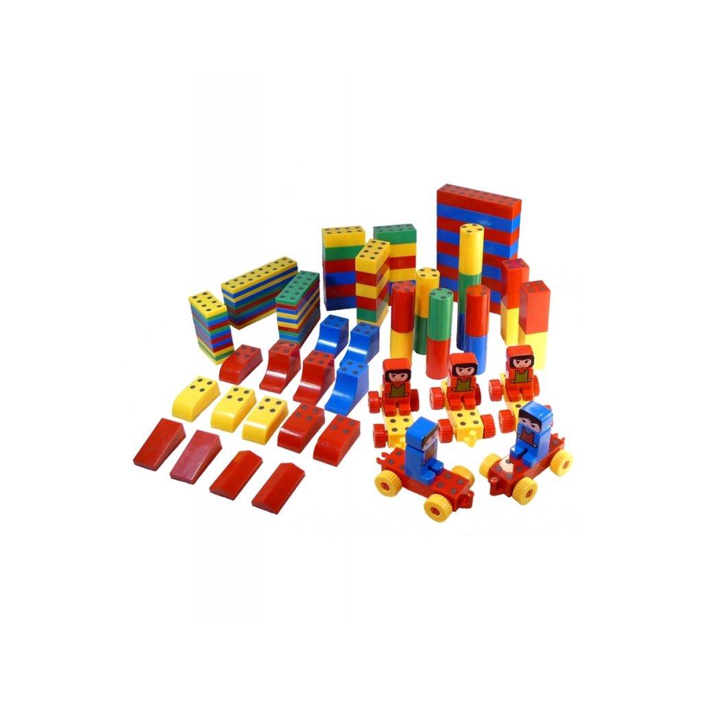 Magnetická stavebnice Magnetiko Big set 100ks Wat14