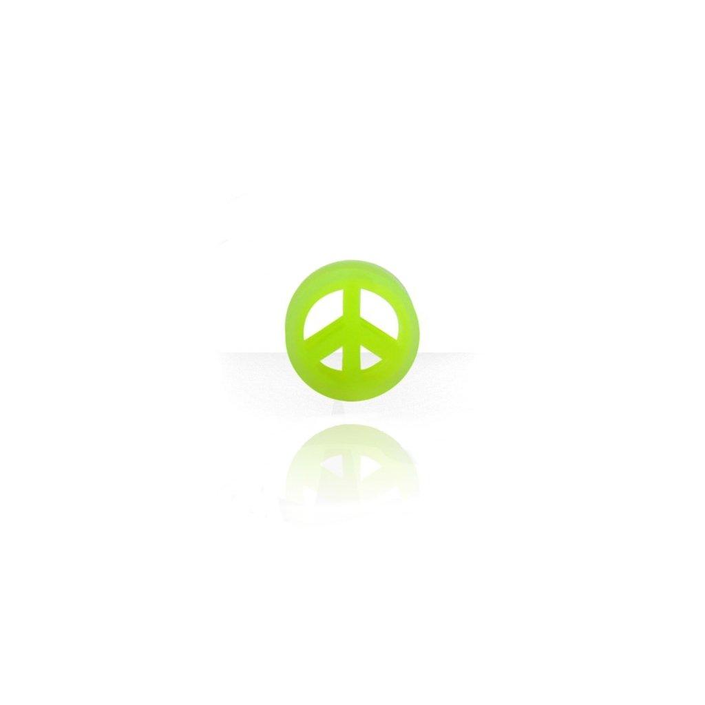 Naušnice do ucha tunel Znamení míru