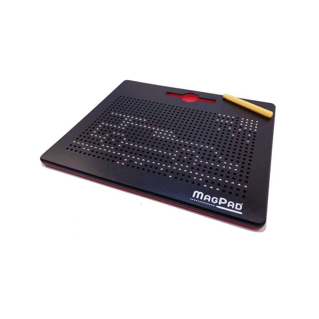 Magnetická kreslící tabulka MAGPAD Big 714 kuliček, Barva Černá - Rozbaleno