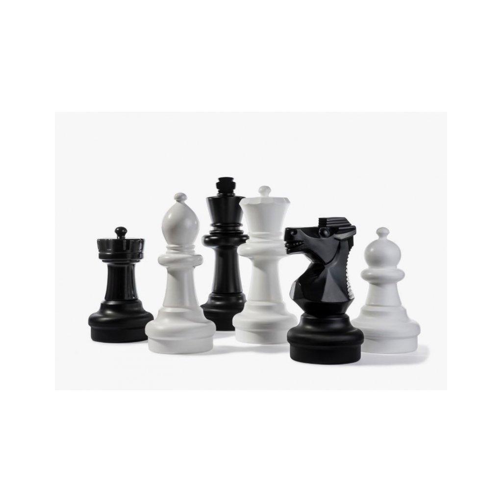 Šachové figurky zahradní XXL