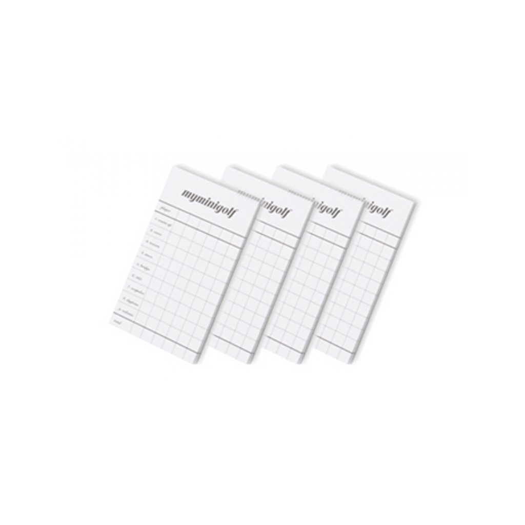 Minigolfový Zápisník výsledků