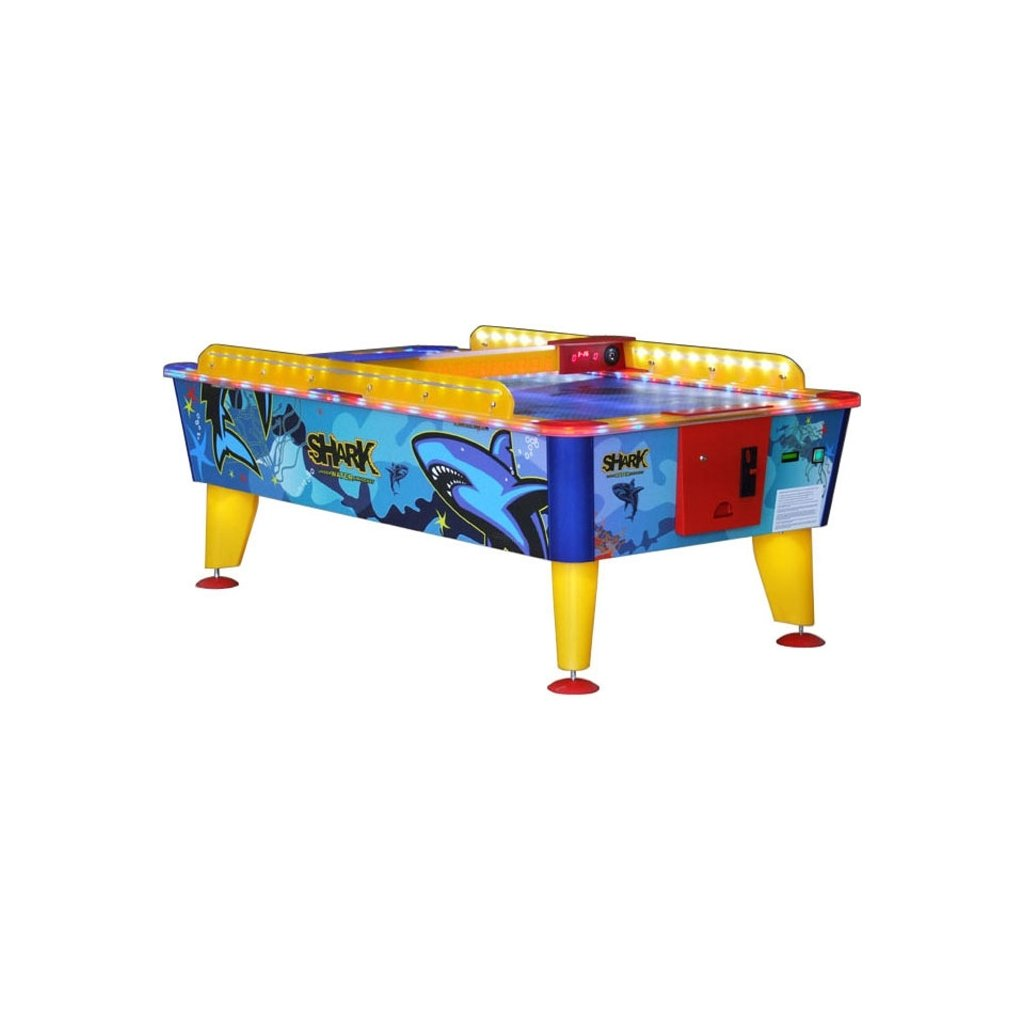Air hockey Buffalo Shark Outdoor 6 ft - Vzdušný hokej s mincovníkem