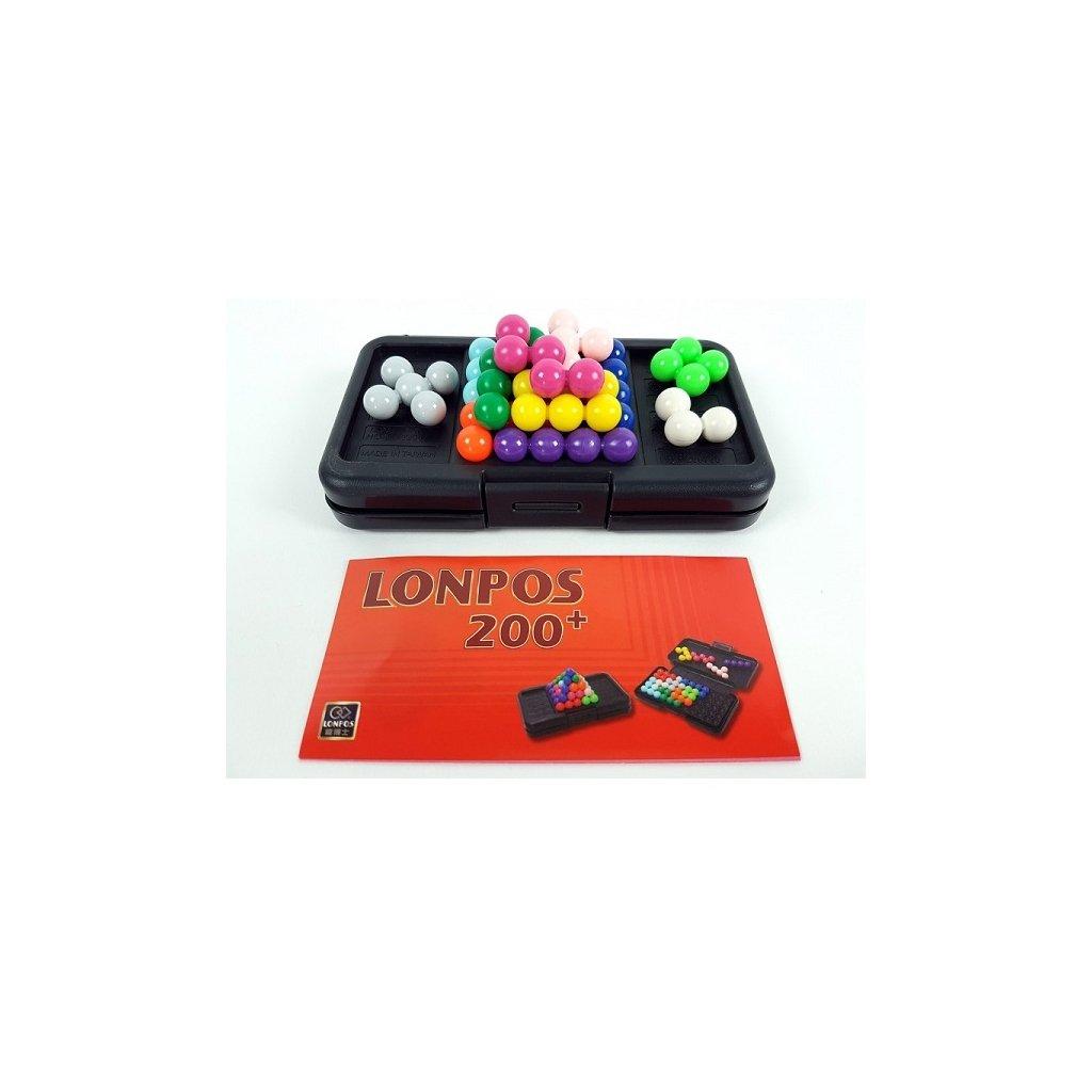 Prostorový hlavolam Lonpos 200 + puzzle game