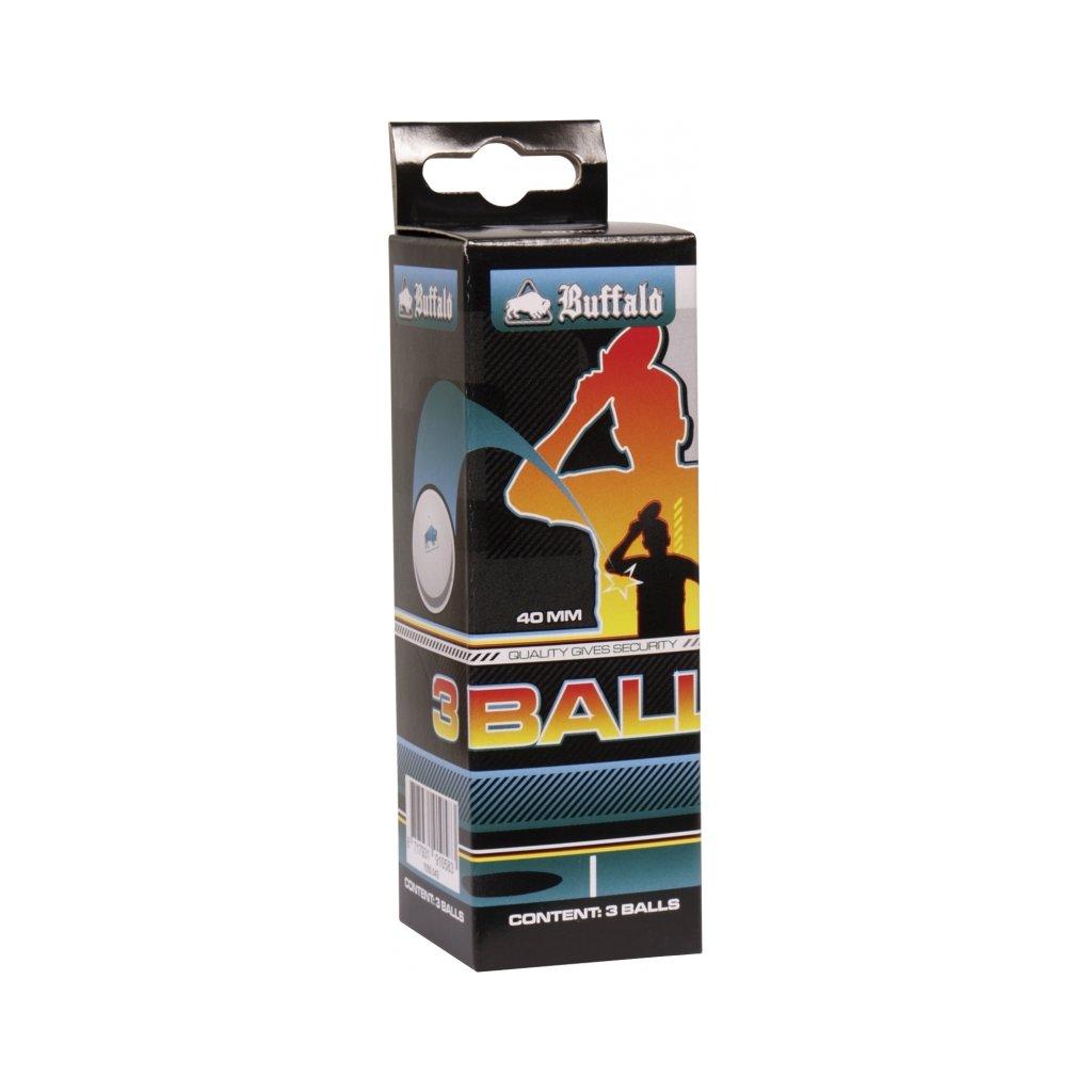 Míčky na stolní tenis Buffalo 3ks
