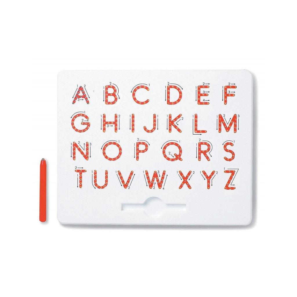 Magnetická kreslící tabulka MagPad Abeceda Velká tiskací písmena
