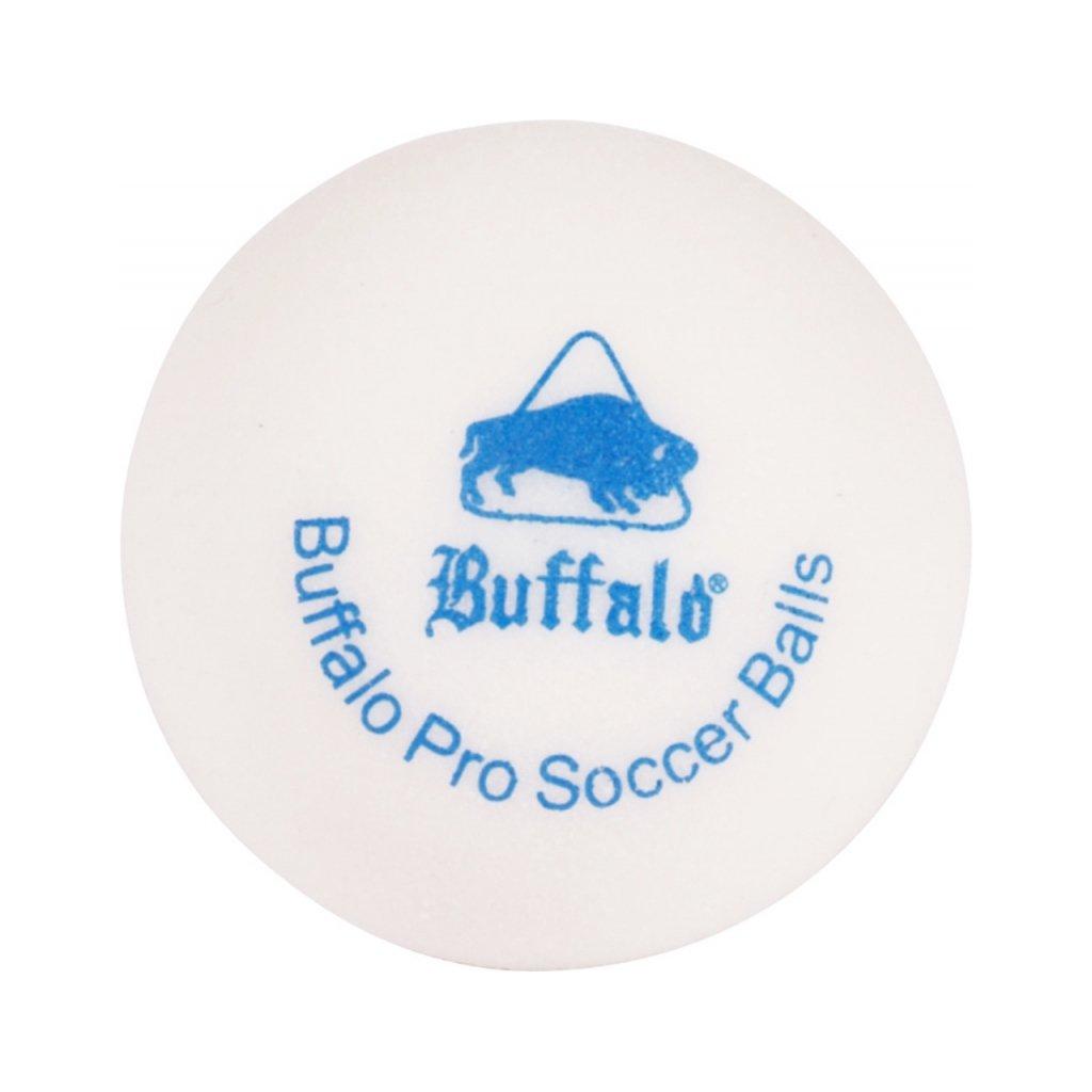 Míček stolní fotbal profi Buffalo  6 kusů bílé