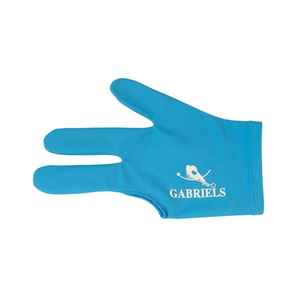 Rukavice Gabriels S/M/L Světle modrá