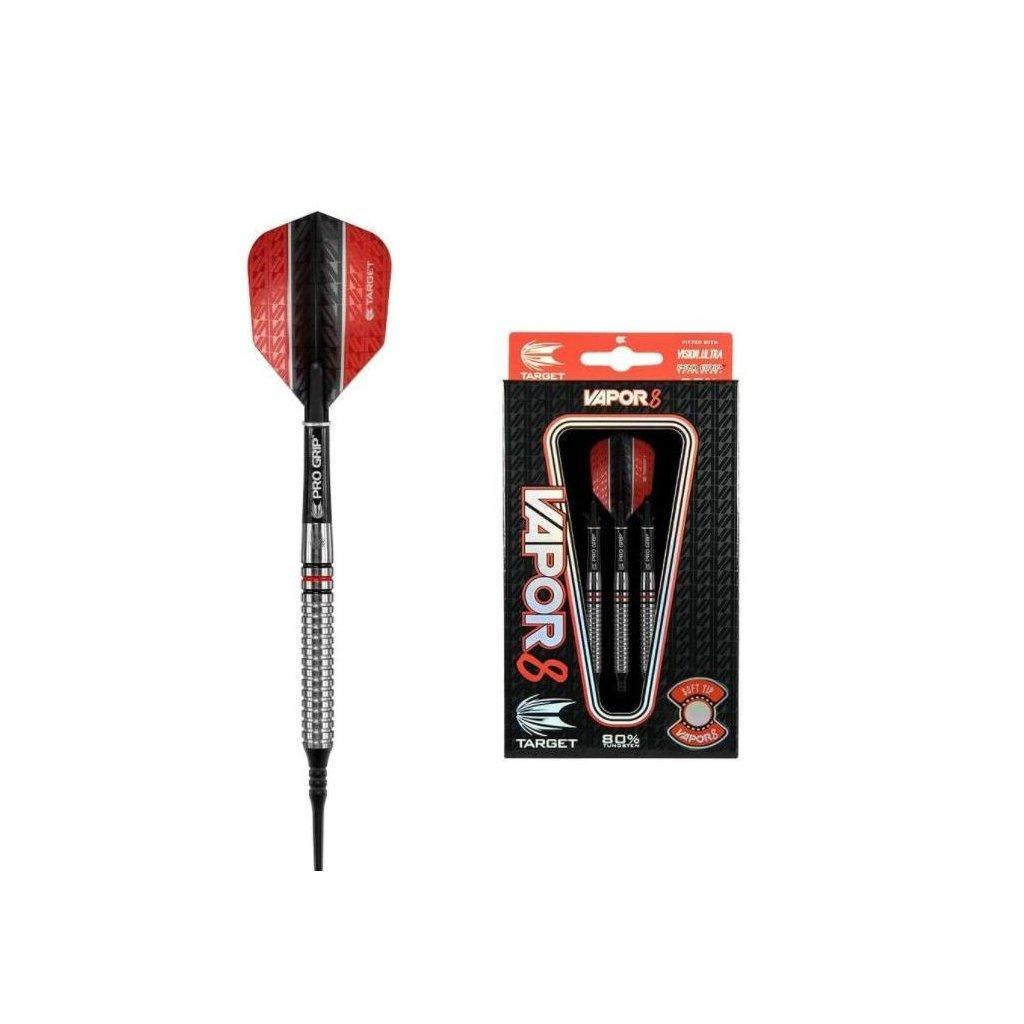 Šipky Soft Vapor 8 - 04 17 g