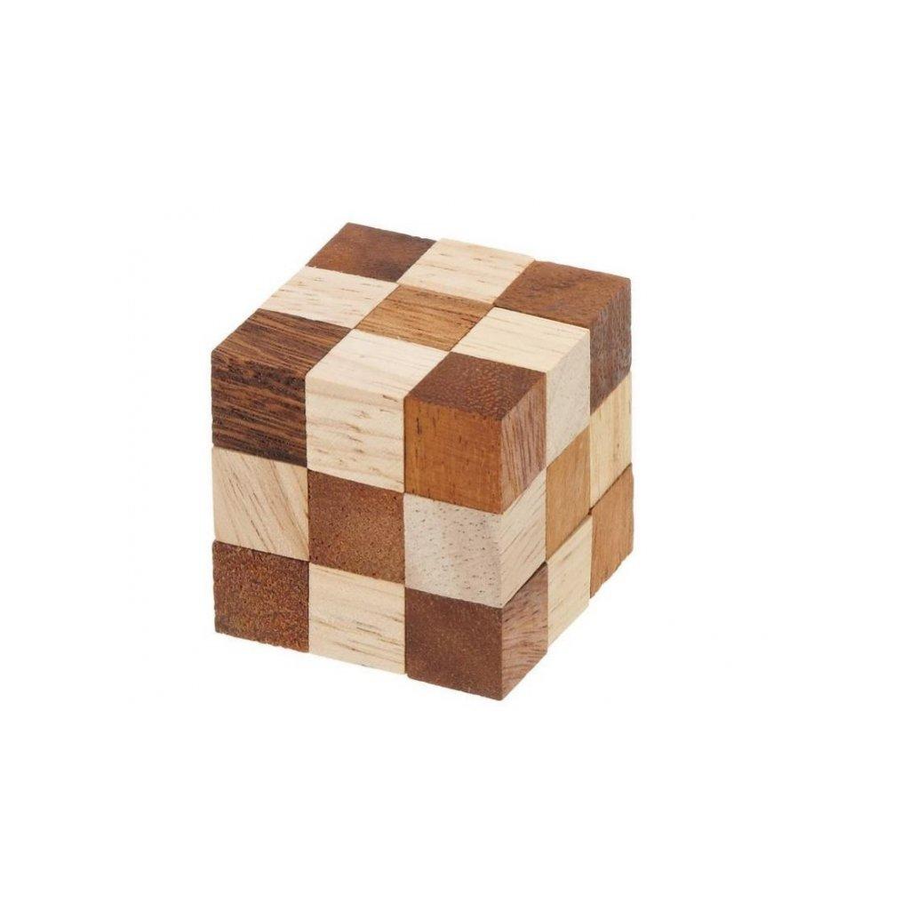 Hlavolam Cube Snake malý 3x3 Philos PHILOS
