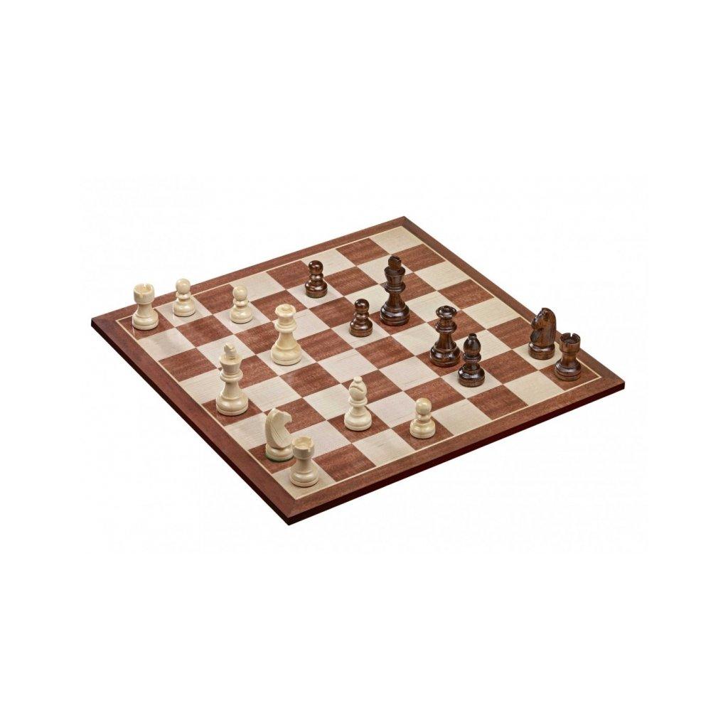 Šachy + šachovnice 40x40 cm PHILOS