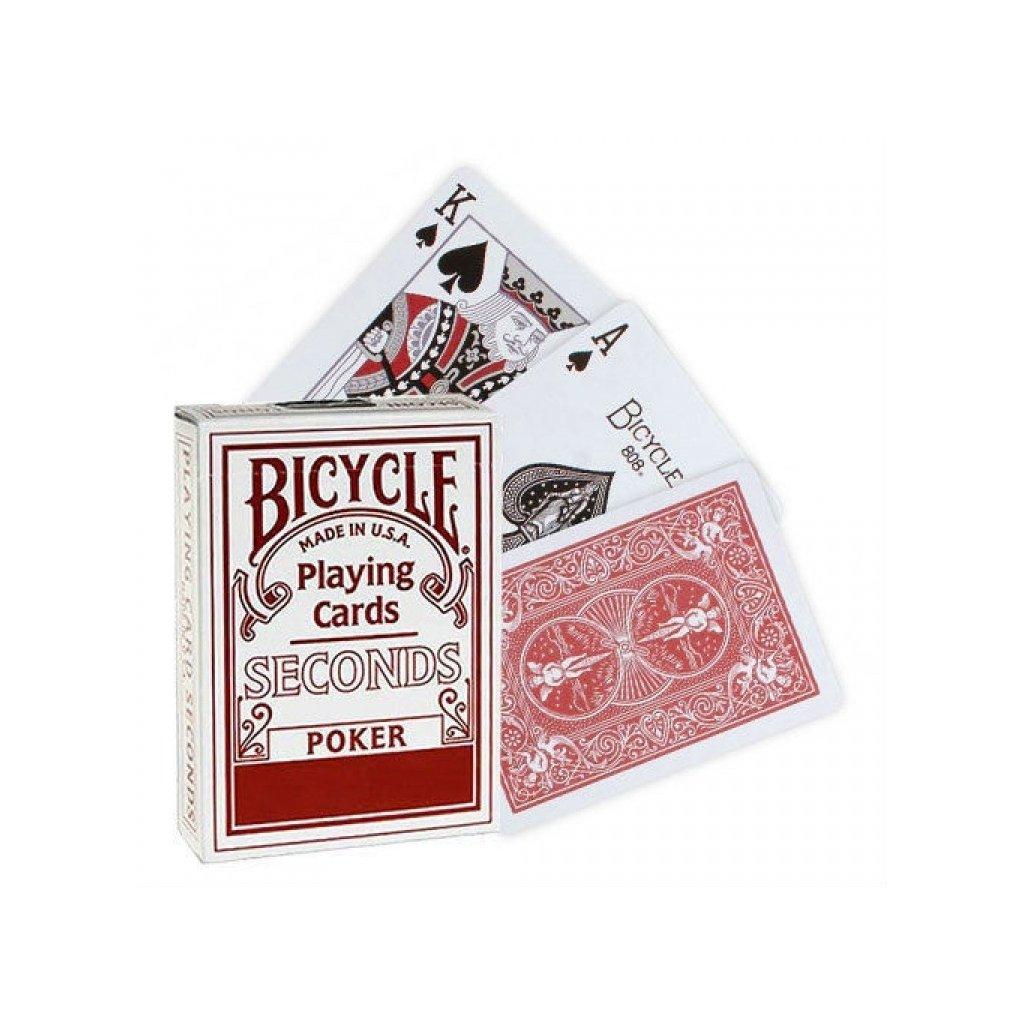 Bicycle Seconds Playing Cards, Barva Červená