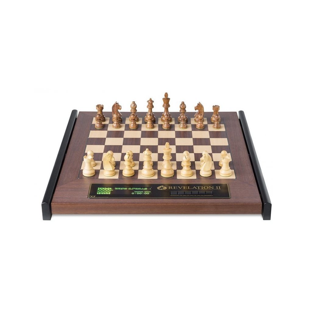 Šachový počítač Revelation II s figurami Timeless