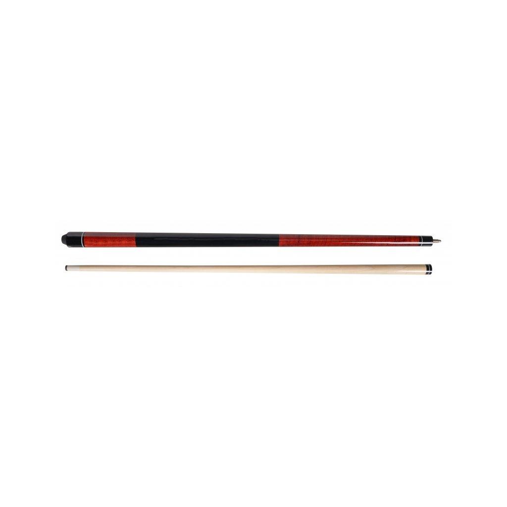 Pool set- tágo Magnum+pouzdro+křída, Barva Červená
