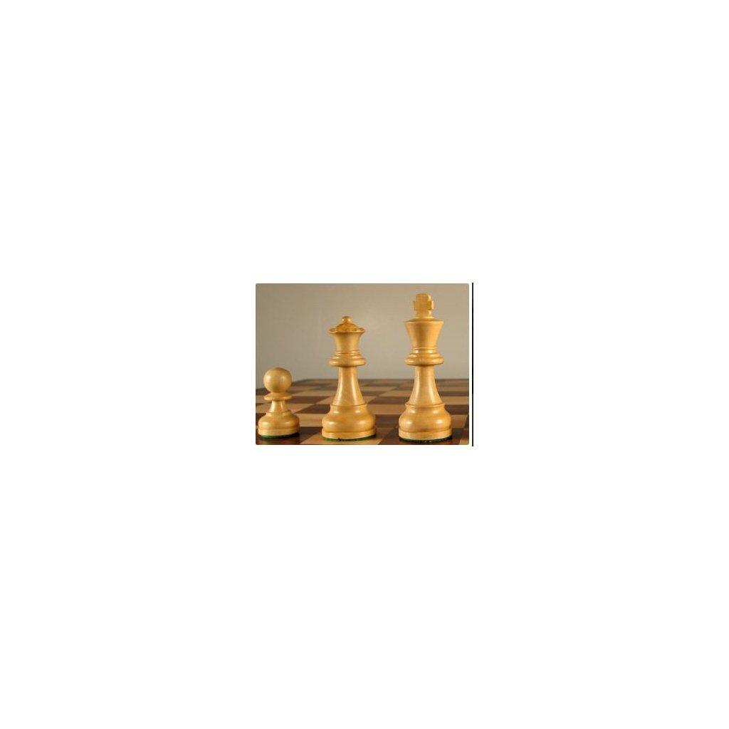 Šachové Figury Staunton Senator č. 6 ebenové