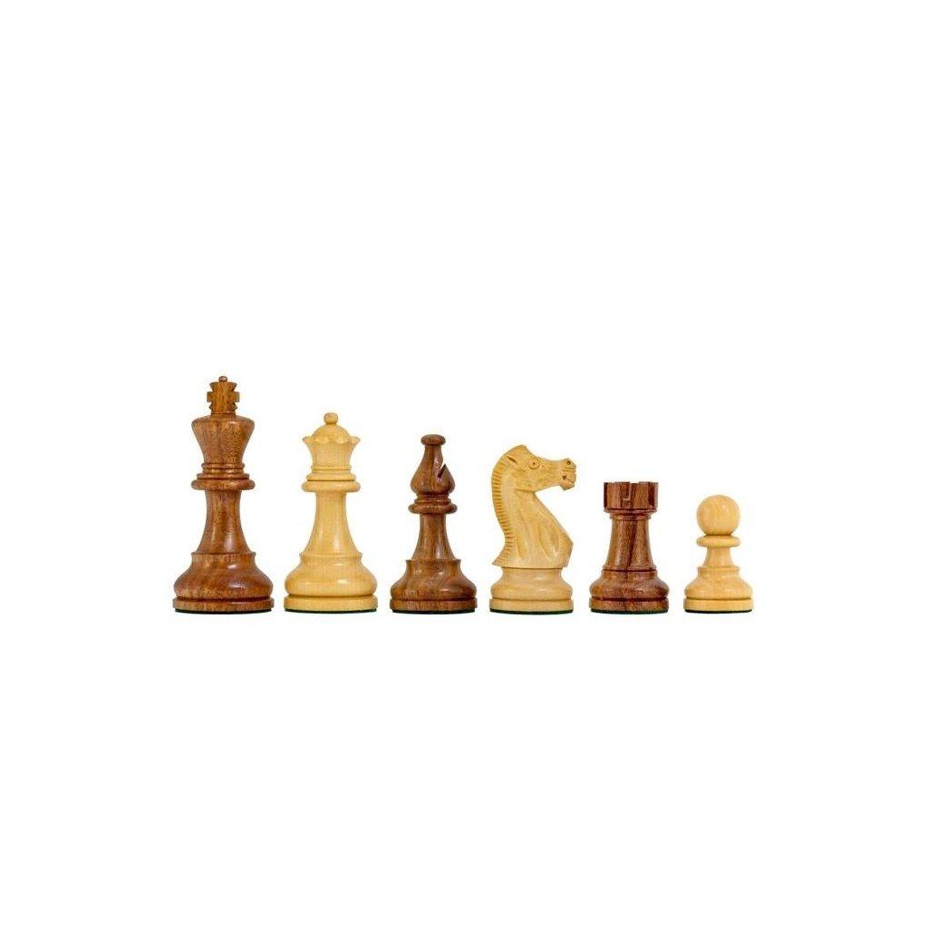 Šachové Figury Staunton President hnědé