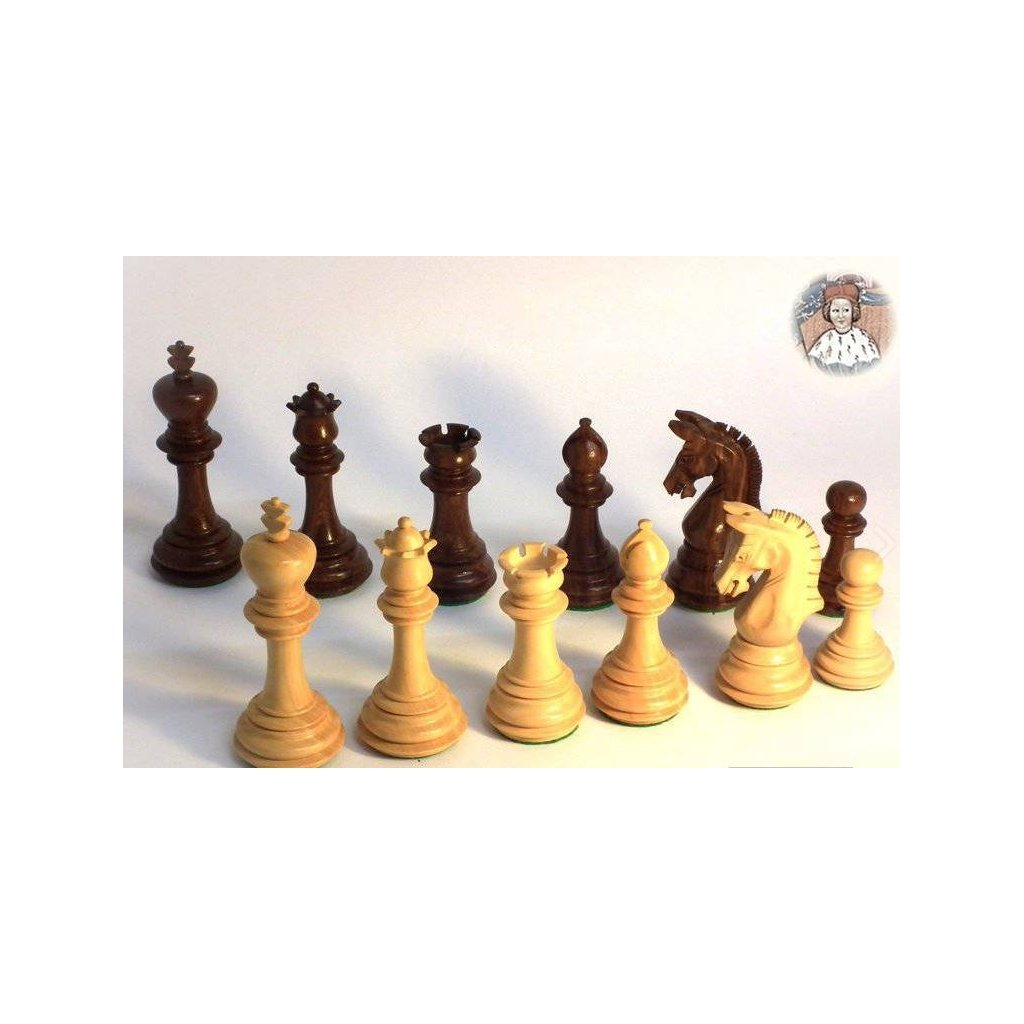 Šachové Figury Staunton Přemysl Otakar II