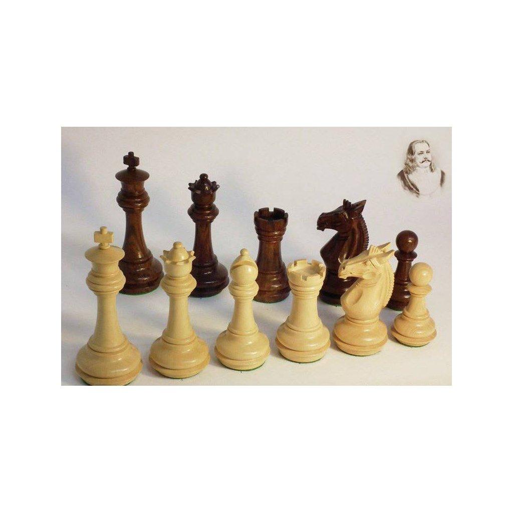 Šachové Figury Staunton Jiří z Poděbrad