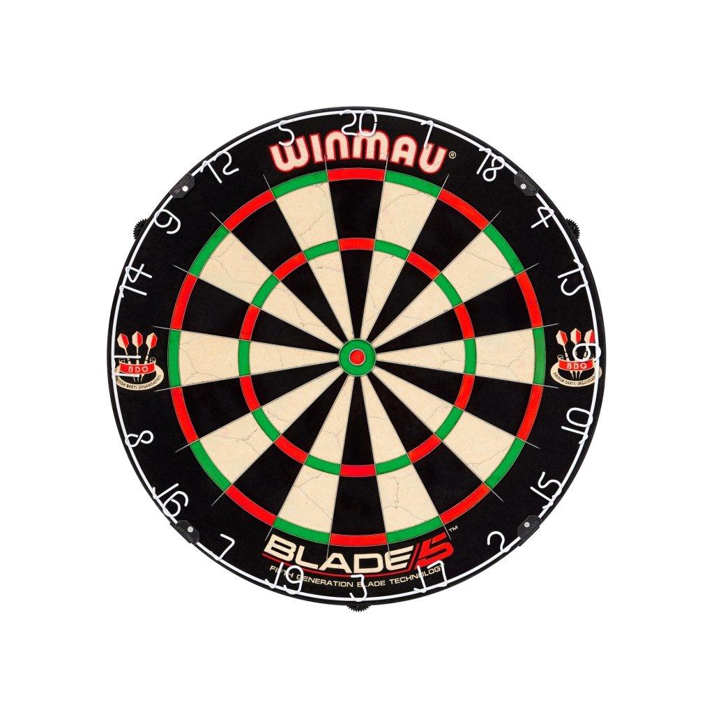 Terč sisalový Winmau Blade 5 Dartboard
