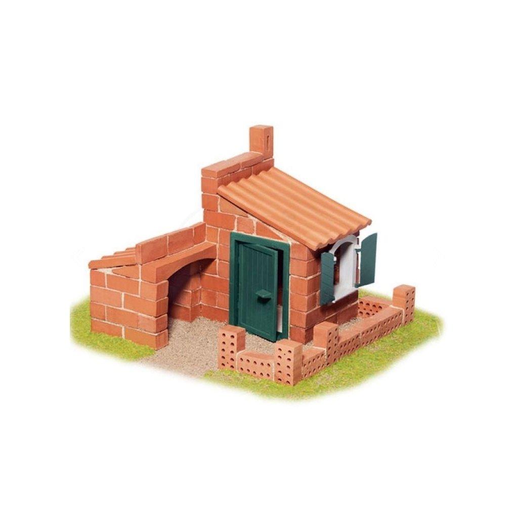 Teifoc stavebnice Domek Miquel 4105
