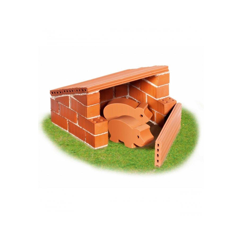 Teifoc stavebnice Domek Pigs 1020