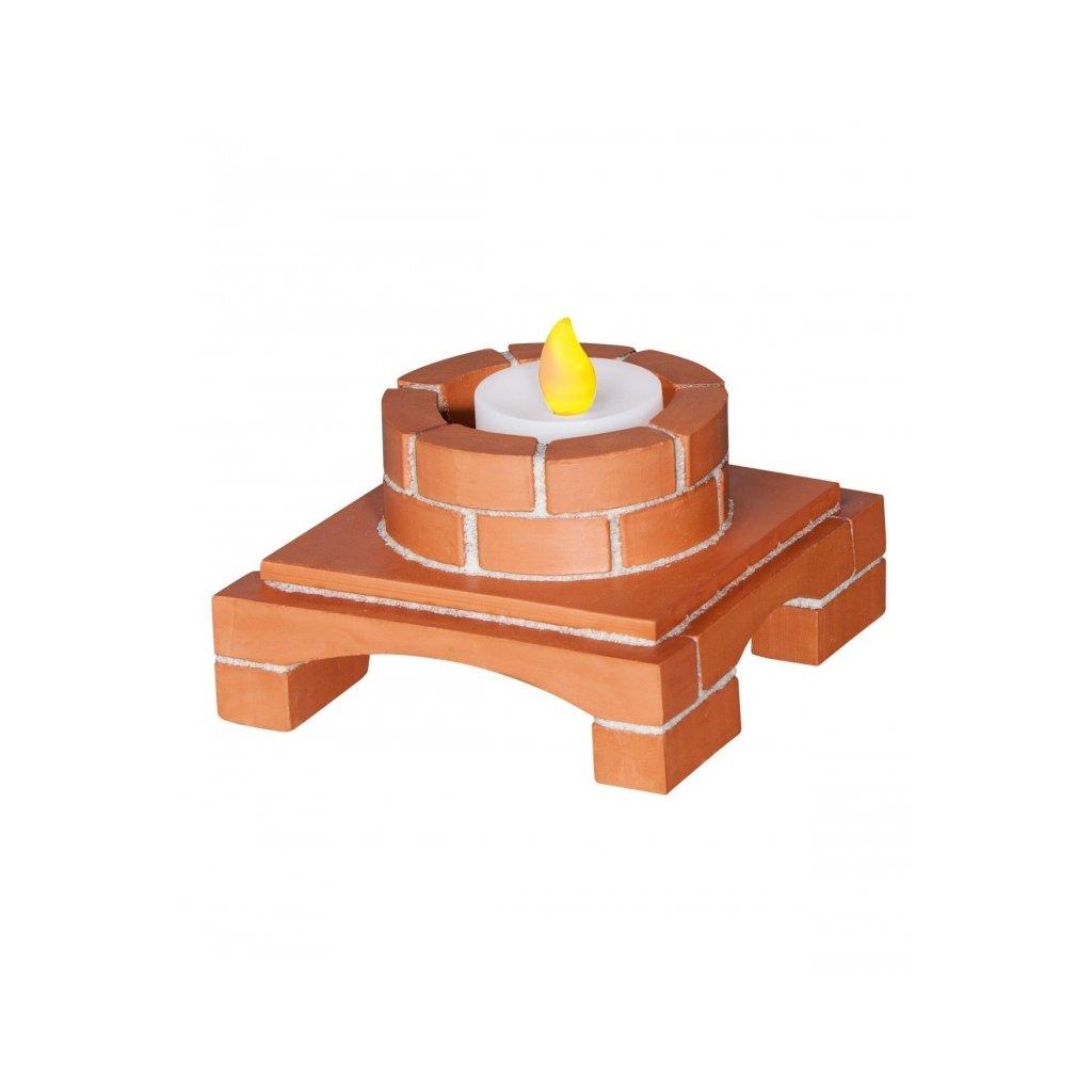 Teifoc stavebnice Deco box svítící 4020