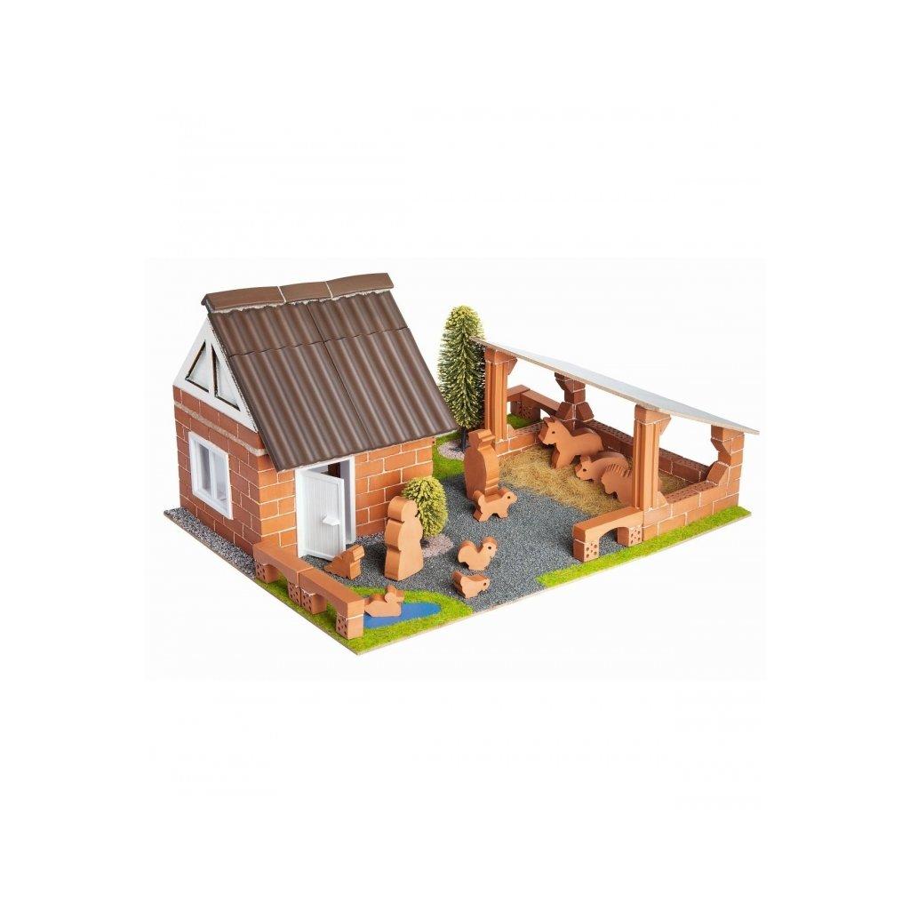 Teifoc stavebnice Farma 4600