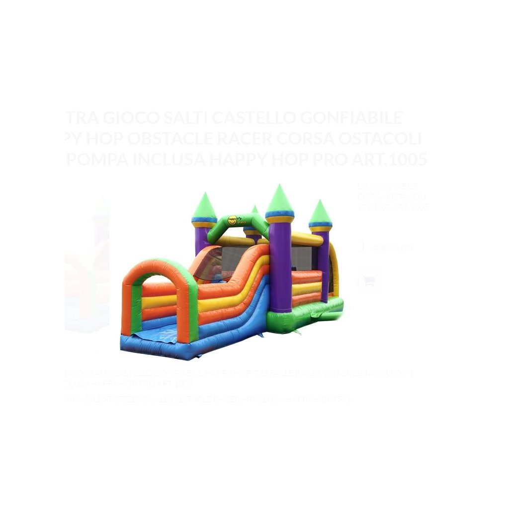Happy Hop Velký Skákací hrad
