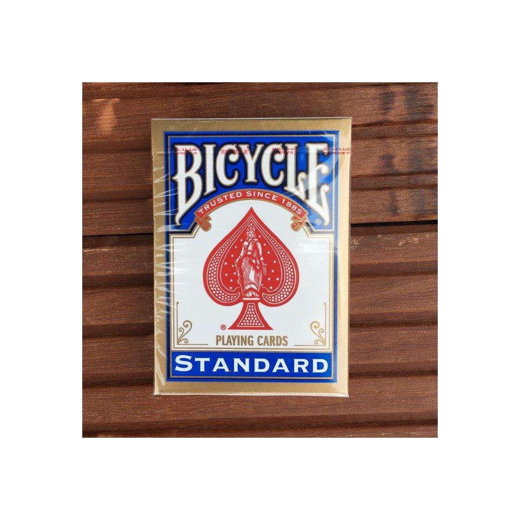 Bicycle Rider Back International Std. Index, Barva Modrá